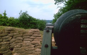 Confederate Gun Position Drewrys Bluff